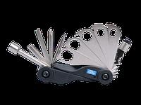 Вело мультиинструмент (кассета)- ключи, отвертки,шестигранники KING TONY 20A17MR (Тайвань)