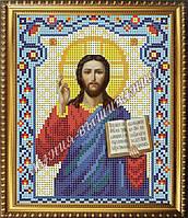 Схема для вышивания бисером Икона Господь Вседержитель, фото 1
