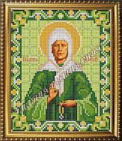 Схема для вышивания бисером Икона Святой Блаженной Матроны Московской