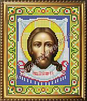 Схема для вышивания бисером Икона Образ Господа Нашего Иисуса Христа