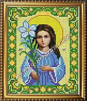 Схема для вышивания бисером Икона Божьей Матери Трилетствующая, фото 1