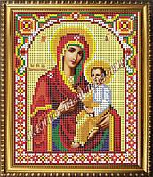 Схема для вышивания бисером Икона Божьей Матери Скоропослушница