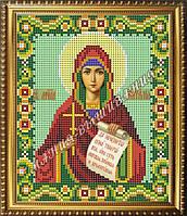 Схема для вышивания бисером Икона Святая мученица Наталья