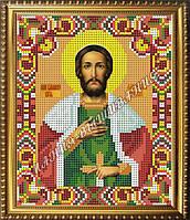 Схема для вышивания бисером Икона Святой Благоверный князь Александр Невский