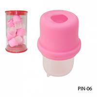 Резиновая емкость для снятия нарощенных ногтей