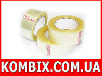 Скотч упаковочный прозрачный: длина - 80 (100) метров | 45 мм ширина