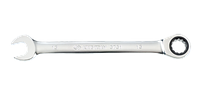 Ключ комбинированый 19 мм трещетка KINGTONY 373119M