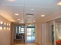 Потолок подвесной, кассета белая с перфор.2мм, 600*600, Германия, Киев