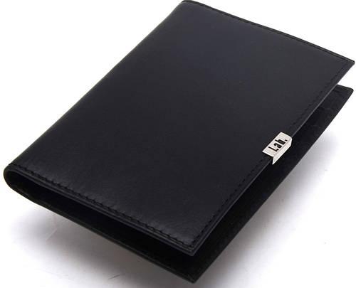 Вертикальное мужское кожаное портмоне Lab Pal Zileri Metal В 21035/10 черный