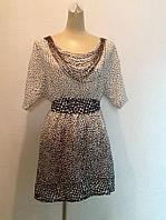 Платье в стиле Dolce&Gabbana шелк в горохи, фото 1