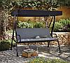 Качели садовые Haversham Classic Garden Swing Seat in Charcoal.