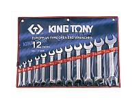 Набор ключей рожковых 12шт. (6-32мм) KINGTONY 1112MR