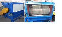 Шнековый пресс для сушки пластмассы