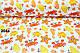 Бязь с крабами оранжевого цвета (№204а), фото 3