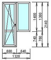 Балконный блок AFT VISTA
