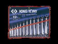 Набор ключей накидных 12шт. (6-32мм) KING TONY 1712MR (Тайвань)