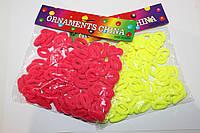 Резинка махровая цветная (100 шт), фото 1