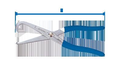 Клещи для снятия пружин тормоз.колодок (барабан) KINGTONY 9BC121 - Спектр Интер Групп в Киеве