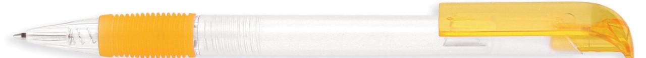 Ручка пластиковая VIVA PENS Neo bis прозрачно-желтая