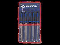 Набор напильников 5ед. 200мм KING TONY 1005GQ (Тайвань)