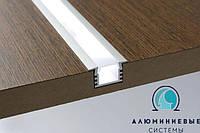 Рассеиватель для светодиодного LED профиля  матовый, фото 1