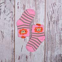Носки детские с обьемным рисунком на 3-4 года ( 5В 400)