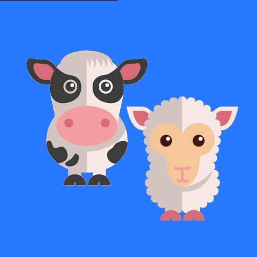 Товары КРС, коз, овец, лошадей