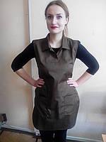 Сарафан для сферы обслуживания,фартук-накидка женская