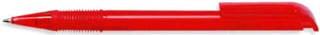 Ручка пластиковая VIVA PENS Neo прозрачно-красная