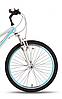 "Велосипед 24"" Pride Lanny 21 серо-бирюзовый 2016  SKD-76-64, фото 3"