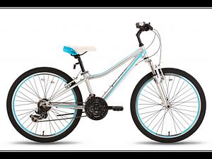"Велосипед 24"" Pride Lanny 21 серо-бирюзовый 2016  SKD-76-64"