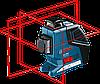 Нивелир лазерный Bosch GLL 3-80 P + вкладка под L-Boxx 0601063305