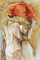 """Набор для вышивания крестом """"Luca-s""""  B552 Под зонтом"""