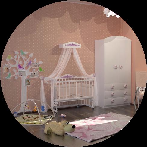 """""""Multi -bed"""" Premium Decor приставные кроватки для новорожденных"""