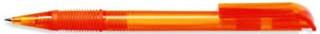 Ручка пластиковая VIVA PENS Neo прозрачно-оранжевая