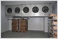 Холодильне обладнання для камер охолодження.