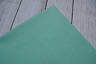 Лоскут ткани №40  мятного цвета