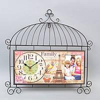 """Декор часы с фоторамкой """"Family"""" T14"""