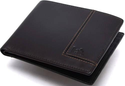 Качественное мужское кожаное портмоне Lab Pal Zileri Olimpia 21050/73 темно-коричневый
