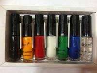 Набор лак-красок для стемпинга GCOCL Nail