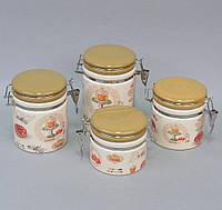 """Набор банок для сыпучих продуктов """"Cupcake"""" YX1315"""
