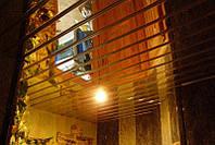 Потолок реечный, золото зеркальное, Германия