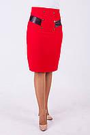 Женская классическая юбка карандаш, с завышенной талией