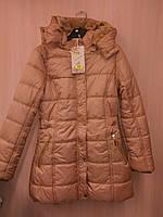 Зимние куртки для девочек на меху Grace 8,10 лет.