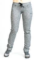 Спортивные брюки для прогулки 1186 серого цвета