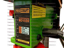 Сверлильный станок ProCraft BD1550-1550Вт, фото 2