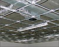 Подвесной потолок,система Т-24, зеркальная, Германия
