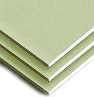 Гипсокартон потолочный ГКПВ 9.5мм 1.2*2,5 влагостойкий