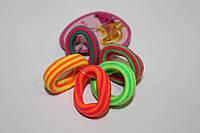 Резинки бесшовные цветной микс набор