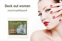 """Омолаживающая маска для кожи вокруг глаз с натуральным фитоколлагеном """"Deck out Women Crystal Eyelid patch"""" маска cryctal"""